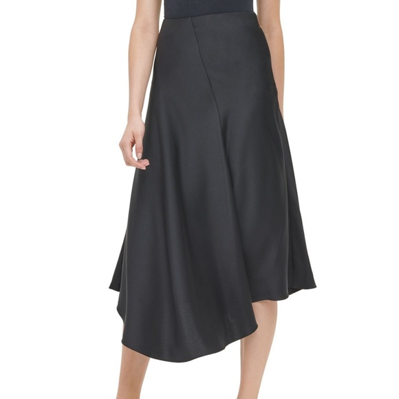 Calvin Klein Dresses & Skirts - Calvin Klein Asymmetric A-Line Skirt, Black size 6